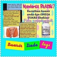Cik Vitamin: Omega Guard Mampu Merawat Buasir