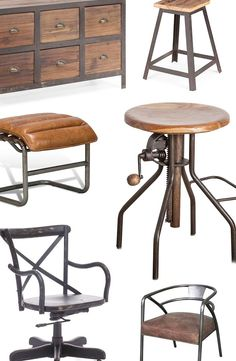 Our urban roots show when it comes to our love for modern industrial décor. Still, we can't get enough of the easy, laid-back appeal of the rustic aesthetic. When you put wood and metal together, incredible things happen.