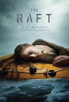 The Raft by S.A. Bodeen, http://www.amazon.com/gp/product/B0079XQ64A/ref=cm_sw_r_pi_alp_-kqqqb01D395X