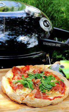 Pizza la grătar