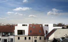 Dachaufstockung Architektur Berlin | JWA roof top-up |increasing