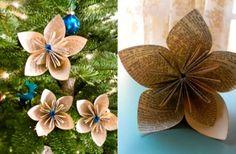 Manualidades navideñas  Se acercan las fiestas navideñas, y para darte una ayudadita en decoración, te presentamos una idea muy original para reciclar papel y al mismo tiempo decorar tu árbol de nav