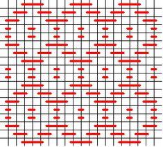 Darning pattern