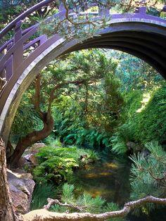 Japanese Tea Garden in San Francisco, California