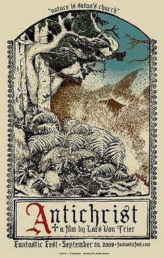 Von Trier. Antichrist. Poster.