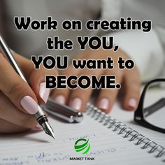 Work on creating the you, you want to become. #success #motivation #money #webdesign #marketing
