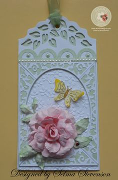 Pretty Tag by Selma - Cards and Paper Crafts at Splitcoaststampers