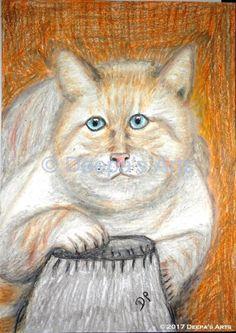 How to oil pastel a chubby cat:  https://www.youtube.com/watch?v=fUz7C-JoPJM