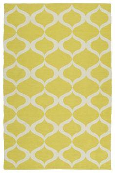 Brisa BRI09-28-A Yellow Indoor/Outdoor Rug  #myhome #decor #diy #fab #floordecor #trendy #homedecor #floors #homedesign #homeaccents