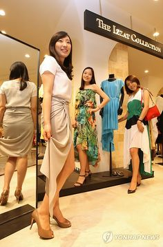 Summer fashion show at Sogong-dong Lotte Department Store