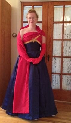 This Captain Marvel Dress Is Out Of This World