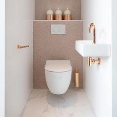 Small bathroom storage solutions and shelves ideas bathroom ideas shelf s .Storage Solutions for Small Bathrooms and Shelves Ideas Bathroom Ideas Shelf s . Small Solutions for Bathroom Storage Small Downstairs Toilet, Small Toilet Room, Downstairs Bathroom, Guest Toilet, Toilet Wall, Bathroom Wall, Bathroom Design Luxury, Bathroom Design Small, Modern Bathroom