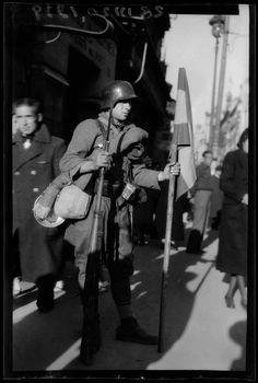Entrada de las tropas de Franco en Madrid III, 1939