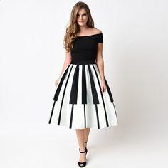 bcfaf3c5d885 Kvinnor Kjol Shorts Vit Svart Striped Patchwork Bröllopsfest Kjolar  Kvinnors Kappa Kappa Kvinna Höga Midja A-Line Kjolar för Girl