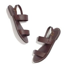 i have been looking for plain brown leather sandals!  so essential!