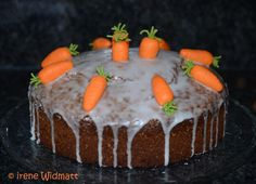 betty bossi Rüeblikuchen Baking And Pastry, Chef Recipes, Carrot Cake, Carrots, Cheesecake, Pudding, Desserts, Kind, Chefs
