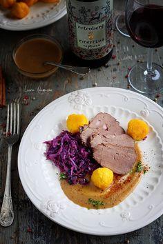 Romanian Food, Steak, Food And Drink, Chicken, Breakfast, Desserts, Recipes, Christmas, Food