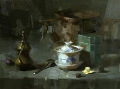 """Daily Paintworks - """"Calm Down in Chaos"""" - Original Fine Art for Sale - © Qiang Huang"""