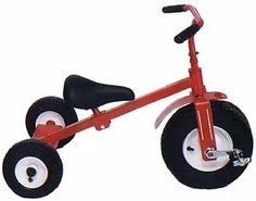 AMISH TRICYCLE Strong Sturdy Trike Heavy Duty Air Tires Full Adjustable Seat USA