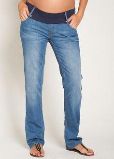 Esprit - Pale Stone Wash Straight Leg Jeans