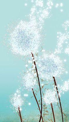 Dandelion Art - Perennial Moment