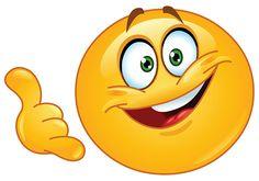 Facebook Smiley Gesturing Call Me