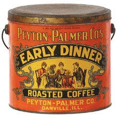 Early Dinner Roasted Coffee by Peyton Palmer Cos.