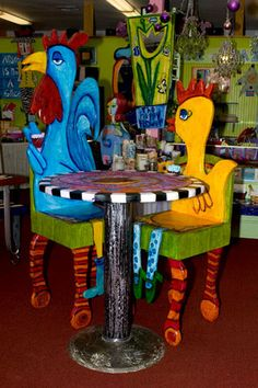 Handcrafted Whimsical Chairs by Luon Fine Art Furniture