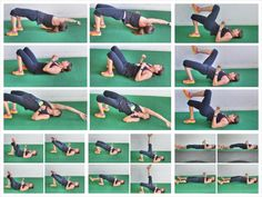 15 glute bridge variations and 2 activation series. glute activation. butt exercises