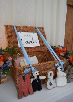 Wedding day signage for card hamper by Dearly Beloved Design, wedding invitations by Dearly Beloved Design