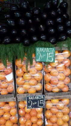 berenjena / naranja (esp) X beringela / laranja (port)
