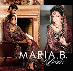 Bridal Wear 2013 Trends By Maria B
