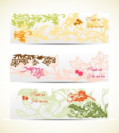 free vector Elegant pattern banner graphic available for free download at 4vector.com. Check out our collection of more than 180k free vector graphics for your designs. #design #freebies #vector