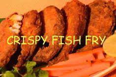CRISPY FISH FRY RECIPE SALMON FISH EASY STEPS