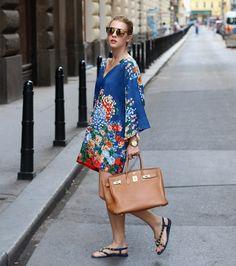 New look on the blog. Fashion. Street style. Summer dress. Balenciaga flats. Inspiration.