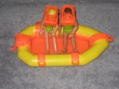 1976 Fisher Price Adventure People SCUBA Divers - my brother had all kinds of these!