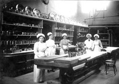 Duisdale House Kitchen Staff, 1901