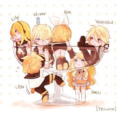 Lily, Rin, and SeeU