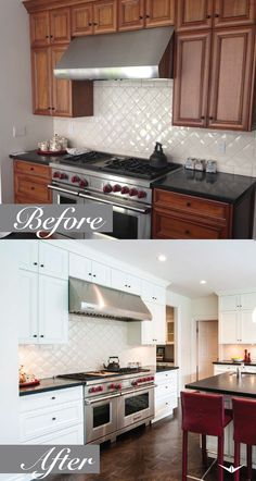 18 best before after cabinet painting images painting cabinets rh pinterest com