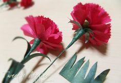 어린이날 즐겁게 보내셨나요?.. ^^ 이제..우리 부모님들의 날과 선생님들의 날이 다가옵니다..후훗~ 감사의... Carnations, Handmade Flowers, Art Education, Paper, Plants, Kids, Flower Arrangements, Creativity, April 25