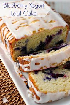 Blueberry Yogrut Loaf Cake