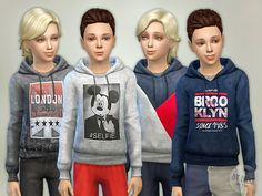 Lana CC Finds - Hoodie for Boys P05 by lillka