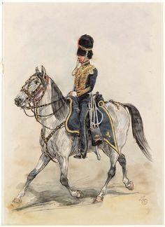 Officier van het Korps Rijdende Artillerie