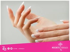 #BeautySecret for wonderful nails!  Rub a few drops of virgin olive oil into the cuticle area and around the nail. Your cuticles will stay moist and plump, and the nails will gleam with a natural shine.