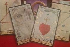 Interprétation personnelle de l'oracle de la Triade Oracle Cards, Tenerife, Sassy, Long Hair, Medium, Bracelets, Christmas, Cartomancy, Spiritual