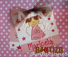 Invitaciones bautizo by MM DiseñoSocial, via Flickr