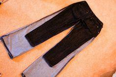 http://www.elmstreetlife.com/2011/05/diy-turn-your-old-jeans-into-skinny.html Jeans to skinny capri