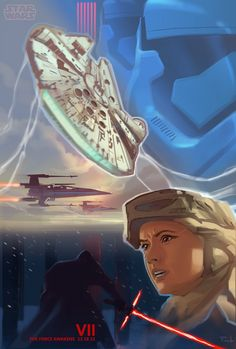 Concept artist Christian Piccolo; Star Wars The Force Awakens #tfa #swtfa