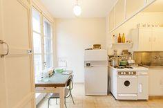 In den 1950er Jahren topmodern: die Küche des Appartement Témoin | BLEU, BLANC, ROUGE