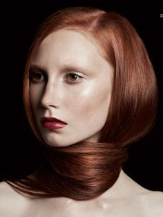 Ginger, redhead~ Makeup Portfolio, Shape And Form, Deep Red Color, Ginger Hair, Hair Pictures, Redheads, Hair Inspiration, Curls, Hairstyle